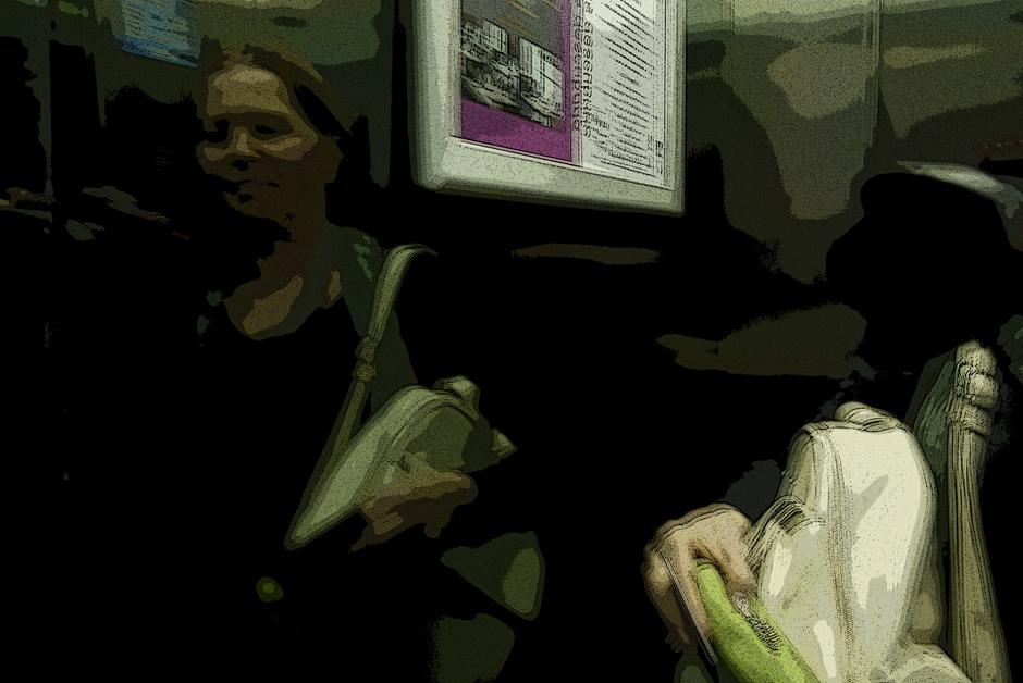 Aufzug HOTEL ZENIT ZARAGOZA ... und ich