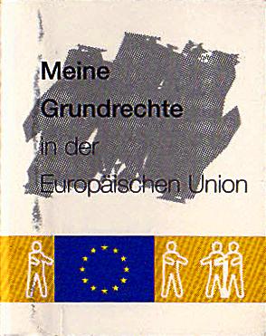 Das Mini-Buch_Meine Grundrechte - in der Europäischen Union_zweieinhalb mal dreikommafünfzehn zentimeter
