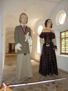 P1030049_Frédéric Chopin und George Sand_Museum Valldemossa_kein eigenes foto