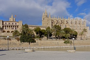 P1350056_Königs-Palast Palau de l´Almudaina und Kathedrale La Seu