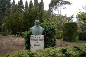 P1340836_VALLDEMOSSA-Kartause-Park-Denkmal_Ludwig Salvator von Österreich-Toskana