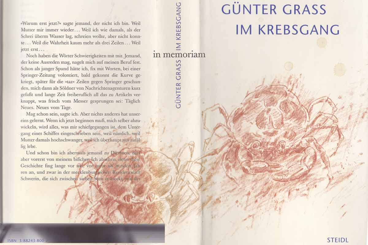 in memoriam GÜNTER GRASS_20150413_Im Krebsgang