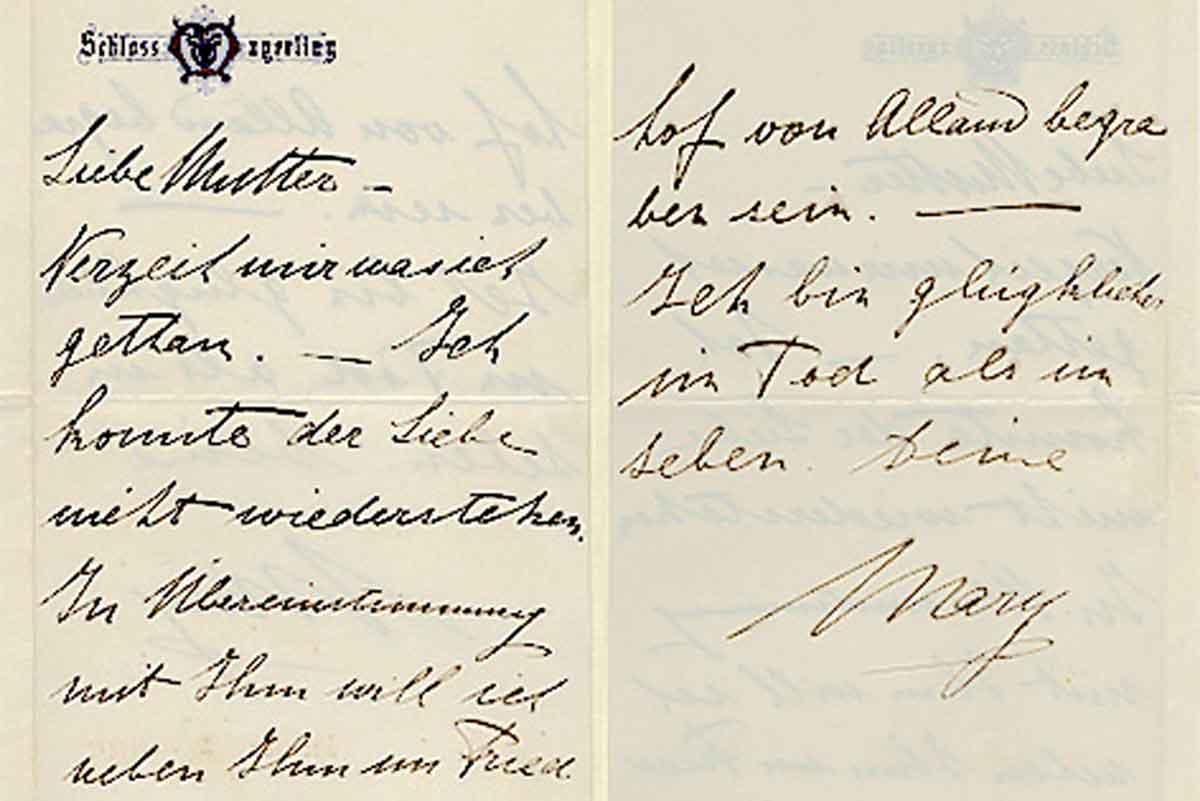 Mary Vetsera - ich bin glügklicher im Tod als im Leben_18890128