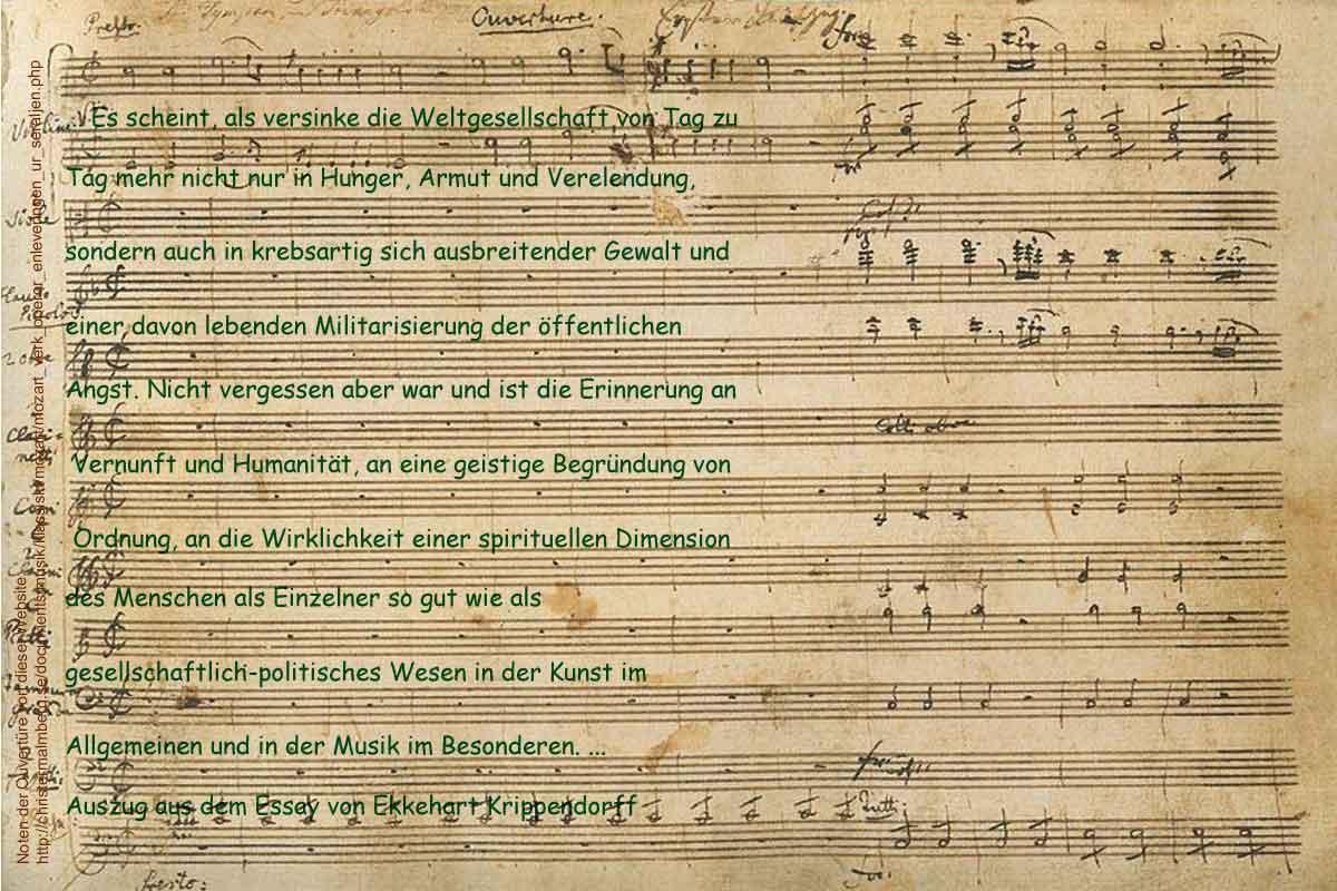 Musik mit Friedensbotschaft_Mozart - Krippendorff