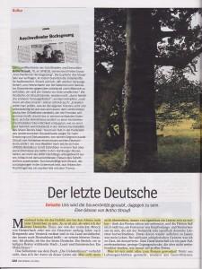 Der letzte Deutsche - Botho Strauß_SPIEGEL 41-2.10.2015 S.122