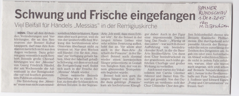 CCC-Konzert MESSIAH_20151127_Bonner Rundschau-Kritik Terschüren