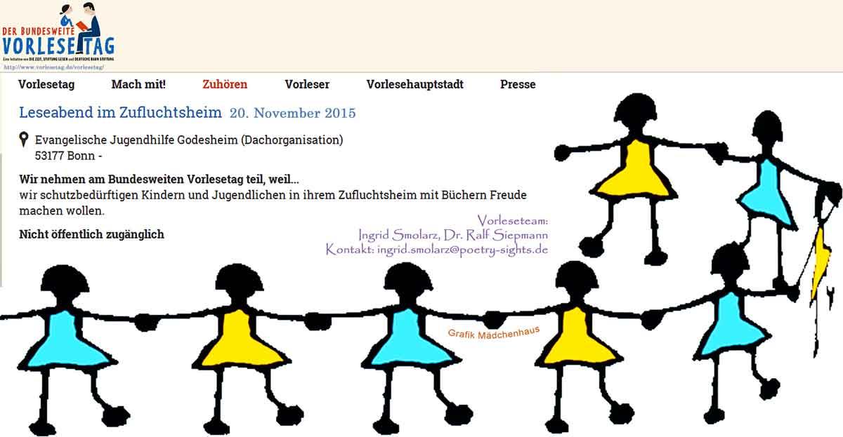 Vorlesetag_20151120_Vorleseteam Bad Godesberg_mit Mädchenhausgrafik