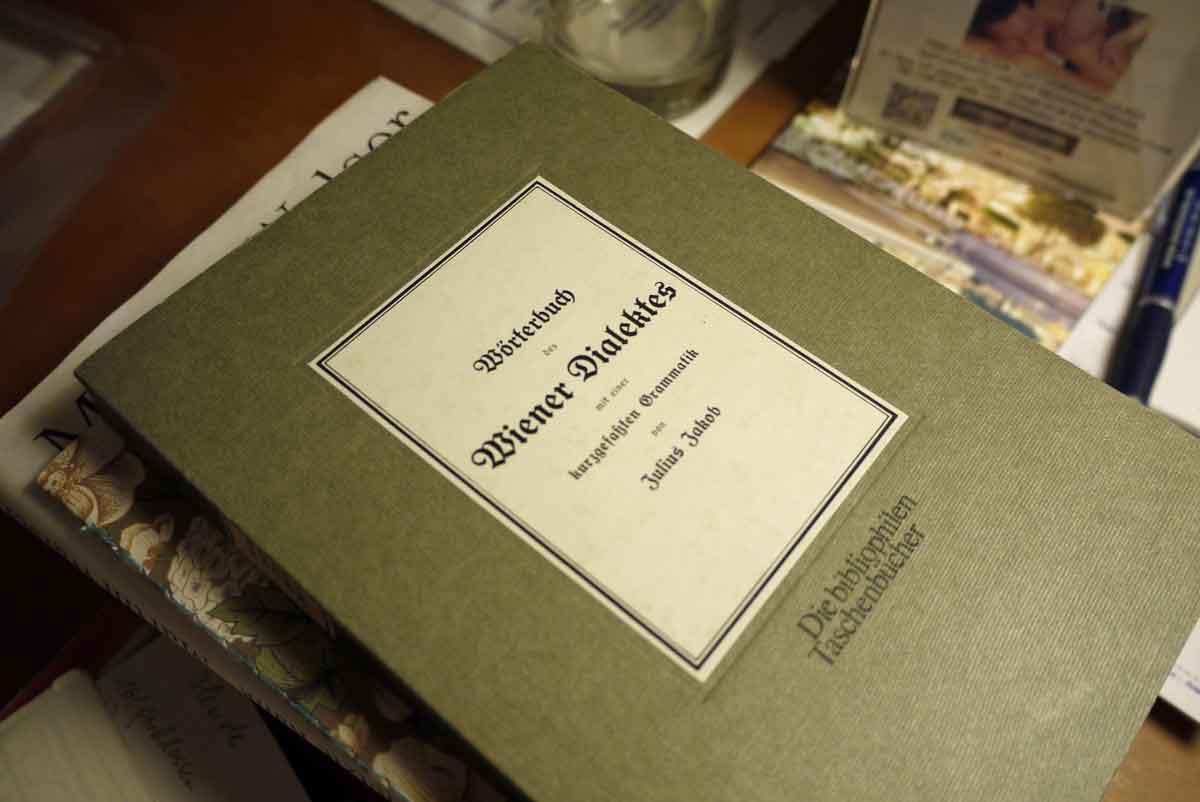 Reisebegleitung_Wörterbuch des Wiener-Dialektes