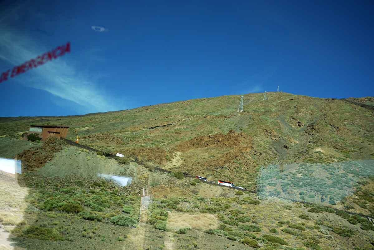 Seilbahn zum El Teide_Ausfall 20170315 mit stundenlangem Ausharren in den Gondeln