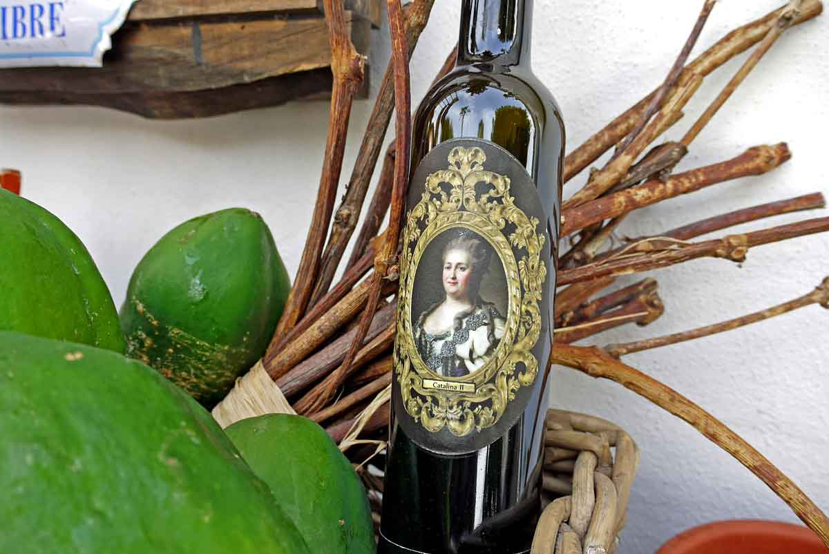 Catalina II und Papayas_Museo de Malvasia_Weinverkostung - Bodega_Icod de los Vinos