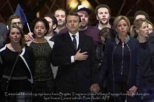 la première famille_Emmanuele Macron_20170507_foto afp_ morgunbladid finland