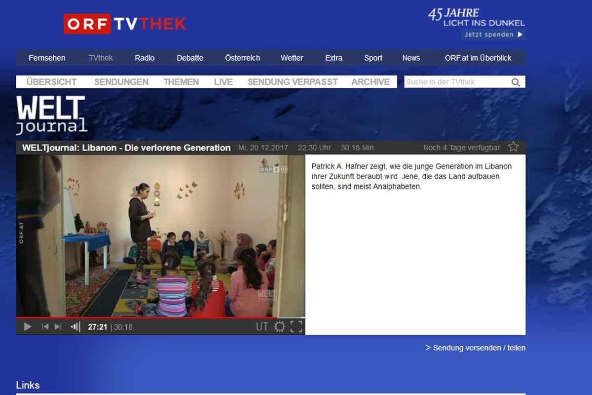 23_syrische Flüchtlingskinder im Libanon_Unterricht in einem Privathaushalt