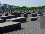 Holocaust-Stelen des Mahnmals in Berlin