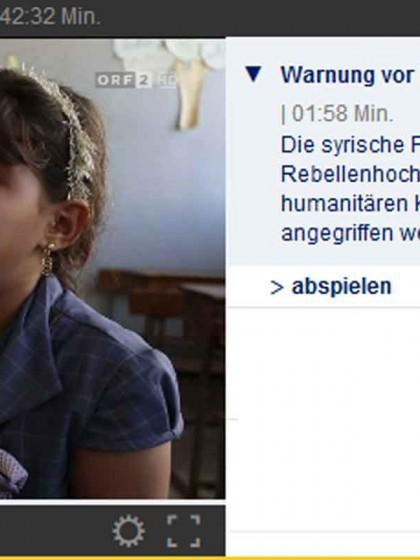 NOUR - Schülerin - Idlib - Syrien_TV ORF 20180906
