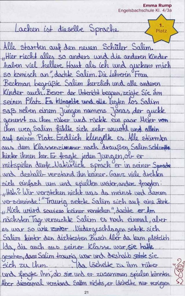 AbraPalabra Nr. 15_1. Platz_Lachen ist dieselbe Sprache_1 von 2_Emma Rump_Engelsbachschule