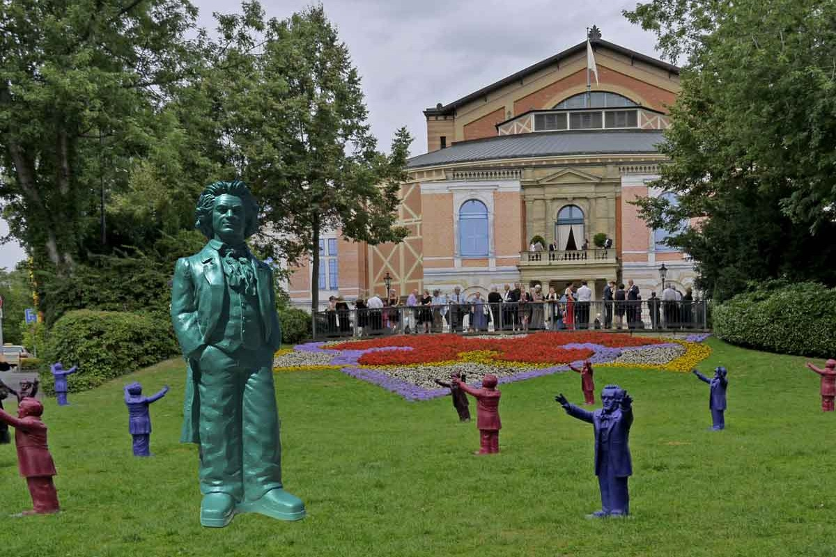 BEETHOVEN-Gegenbesuch bei WAGNER