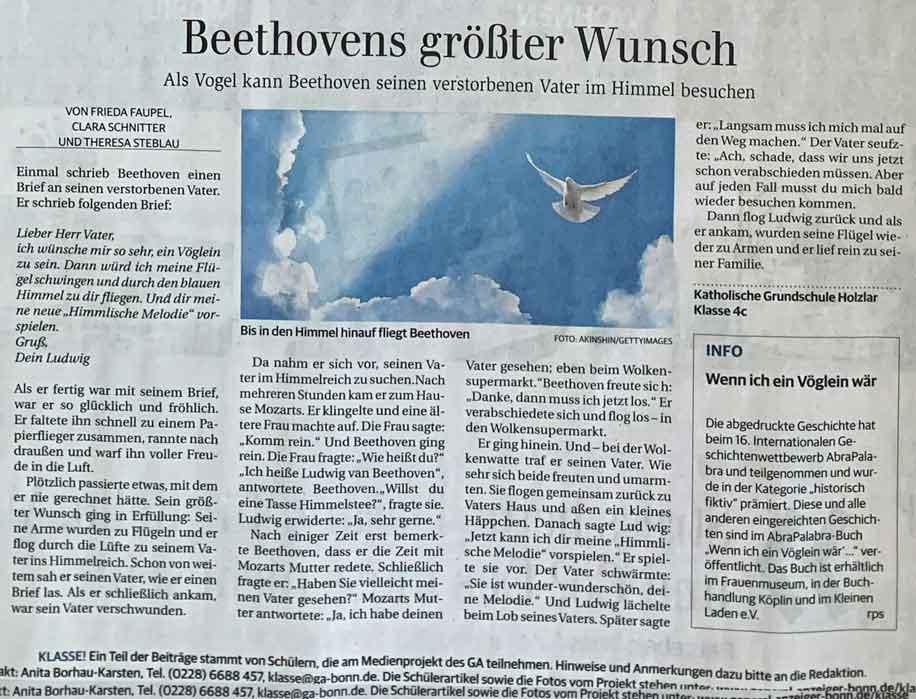 Beethovens größter Wunsch_GA 21.-22.3.2020_MINIKLASSE