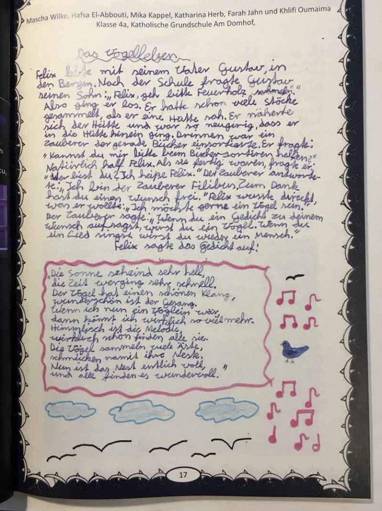Das Vogelleben 1_Mascha - Hafsa - Mika - Katharina - Farah - Khlifi_AbraPalabra 2020_Beethovenjahr
