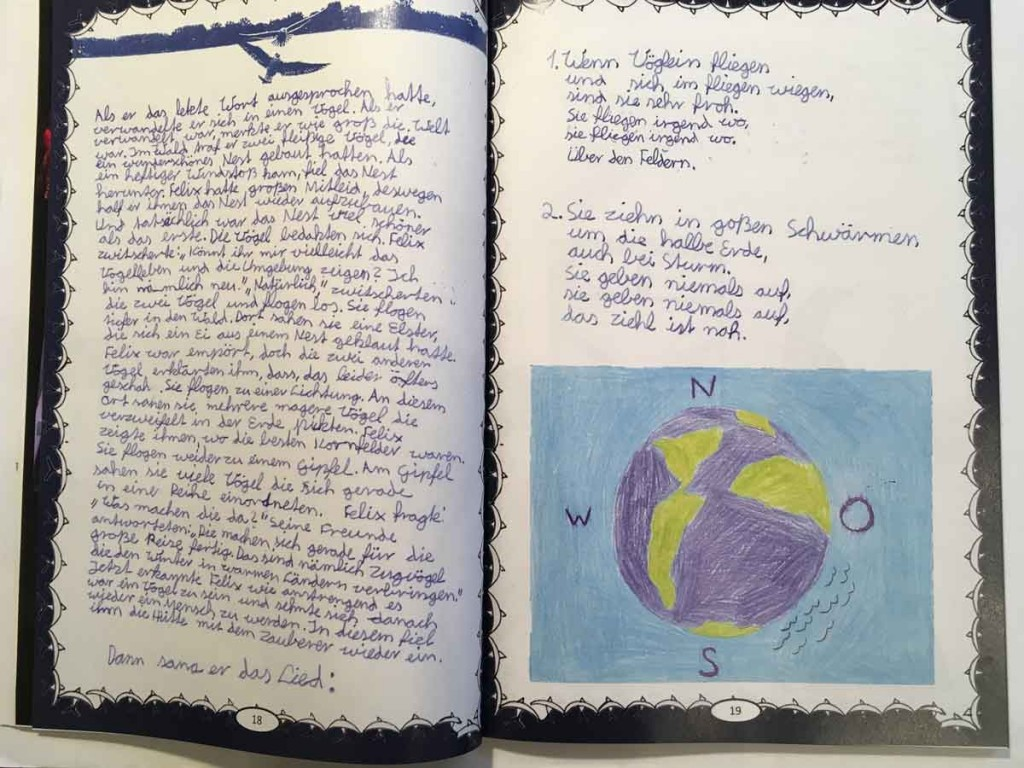 Das Vogelleben 2_Mascha - Hafsa - Mika - Katharina - Farah - Khlifi_AbraPalabra 2020_Beethovenjahr