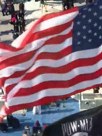 Inauguration_Joe Biden_Kapitol - Flagge_20210120