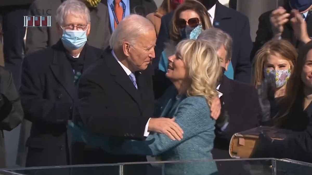 nach der Vereidigung_Joe und Jill Biden