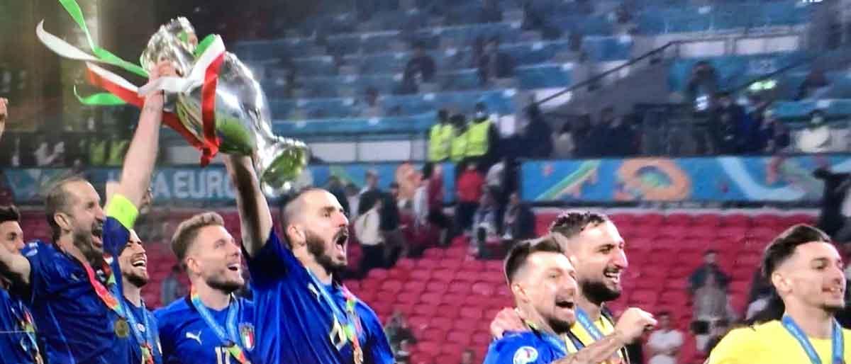 Die Squadra Azzurra - Fußball-Europameister 2021 Italien_20210711_IMG_3120